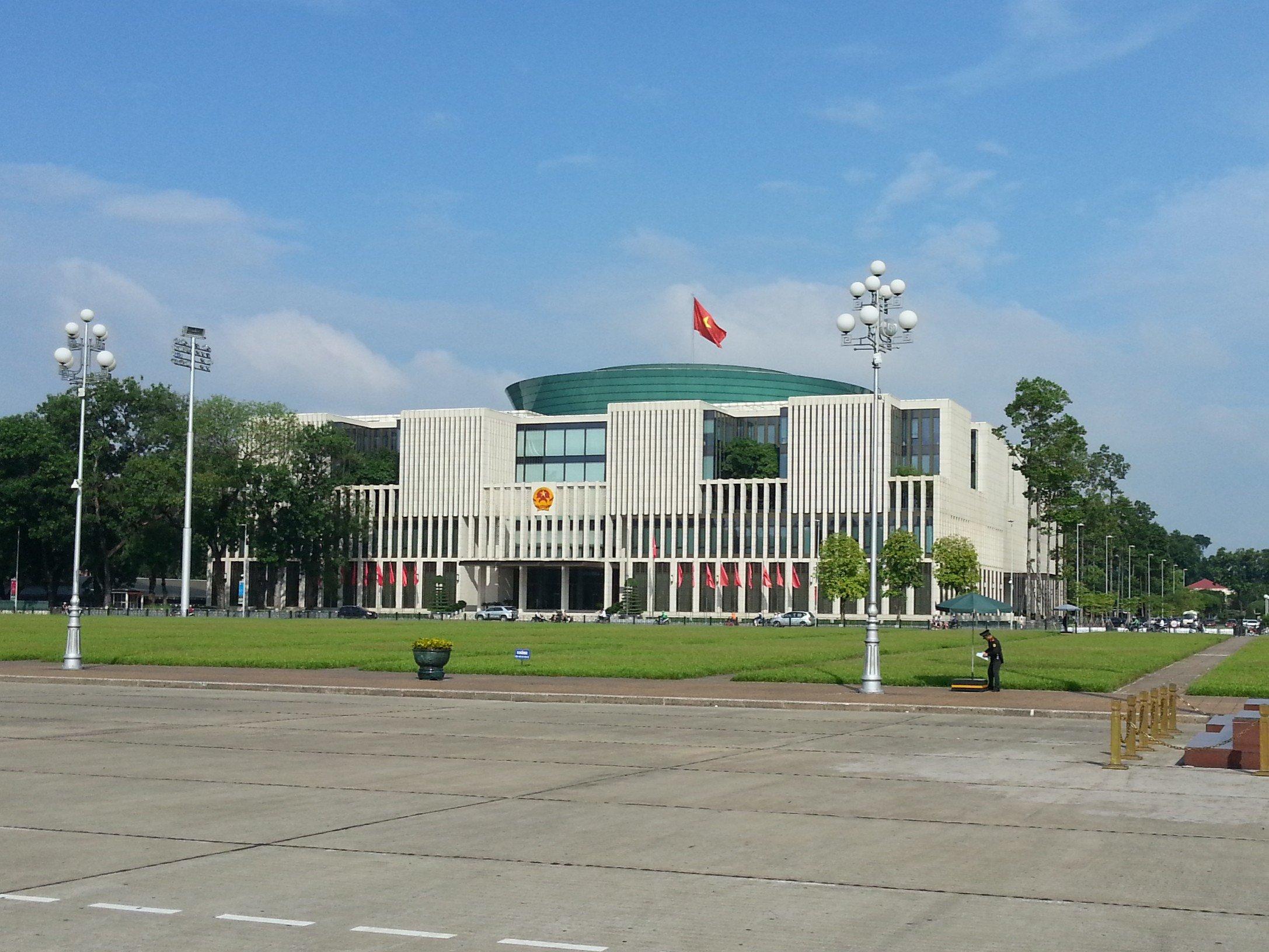 Vietnam's Parliament Building in Hanoi