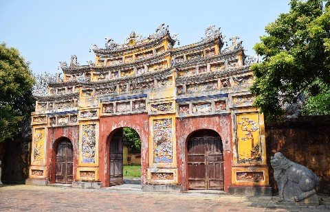 Gate in the Imperial City of Hue