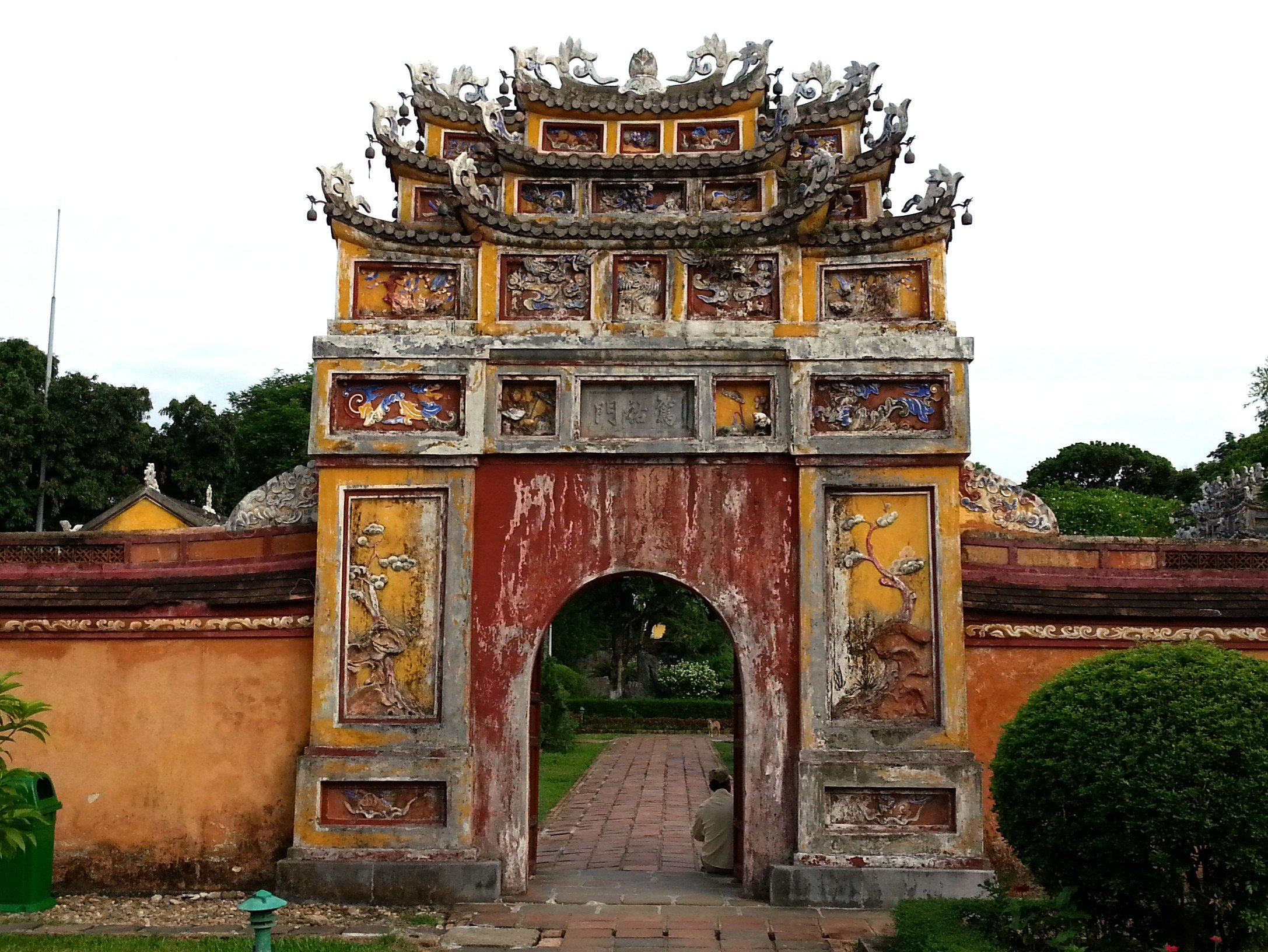 Gate to the Inner Garden of the Imperial Citadel in Hue