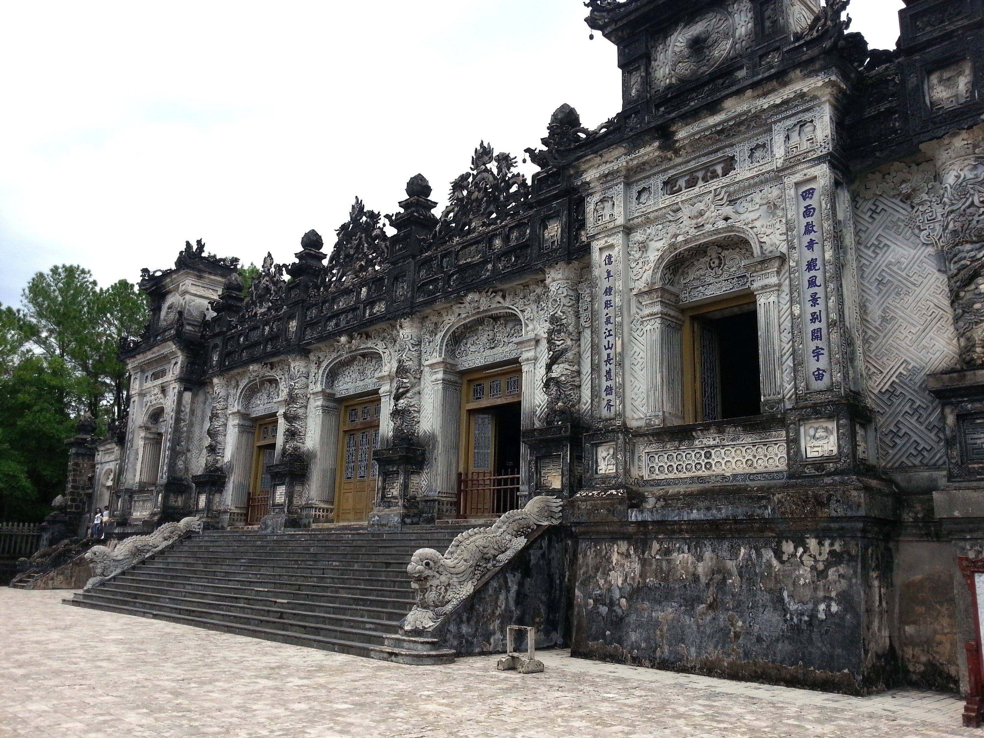 Tomb of Emperor Khai Dinh in Hue