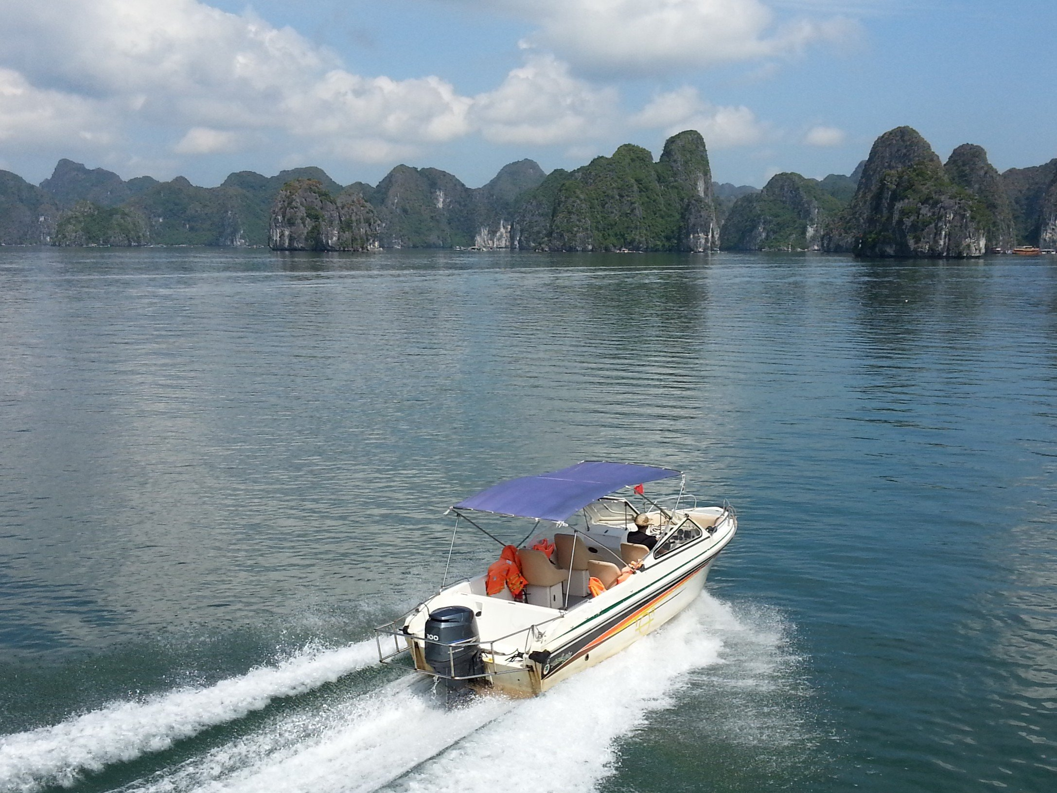 Boat trips around Ha Long Bay are very popular