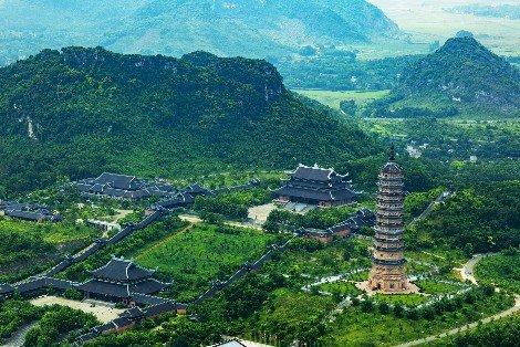 Bai Dinh Pagoda near Ninh Binh