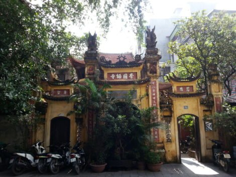 Hanoi has lots of historical buildings