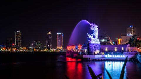 Dragon Fountain in Da Nang