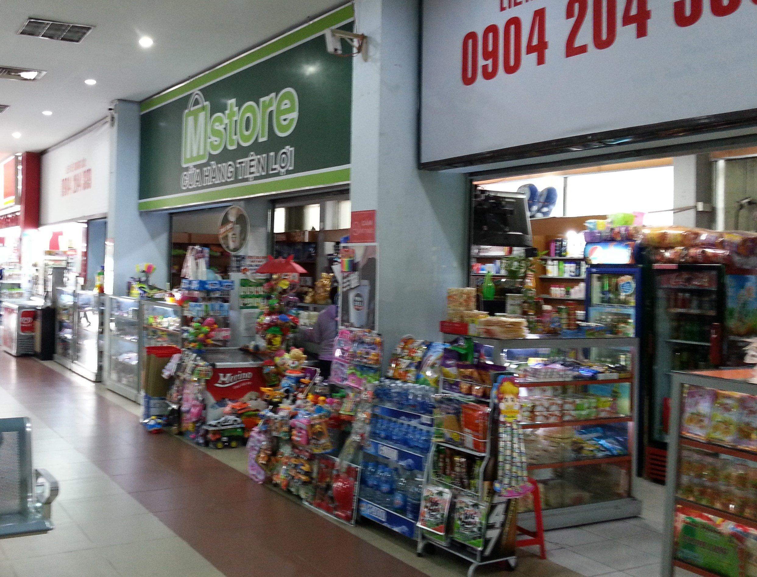 Shops at Saigon Railway Station