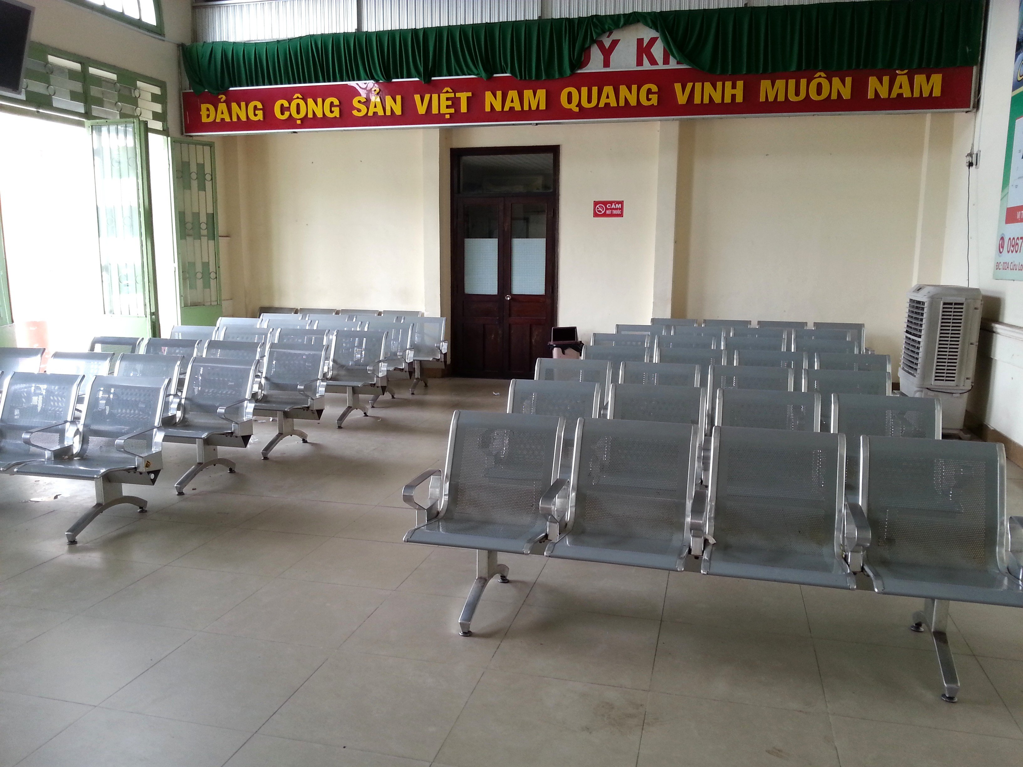 Waiting room at Nha Trang Train Station